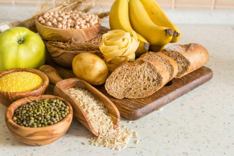 plateau de glucide banane pain