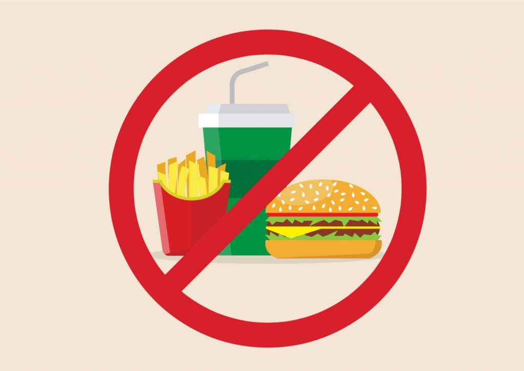 non au fast food
