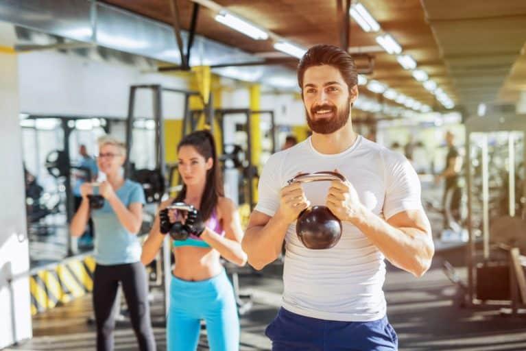 entrainement en salle de fitness