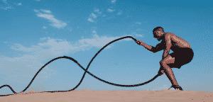 exercices de CrossFit à la corde