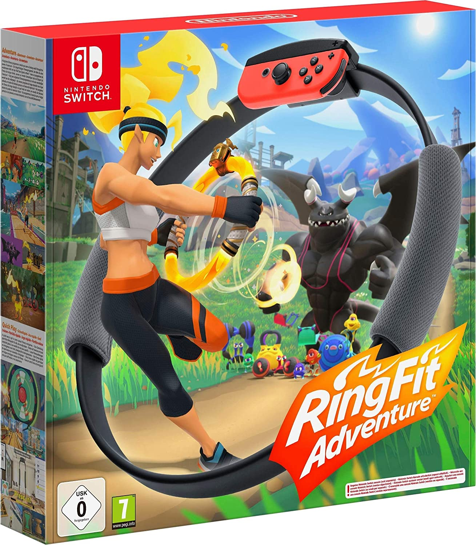 Jeux vidéo Ring fit adventure