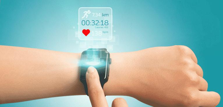 Smartwatch compteur de calories