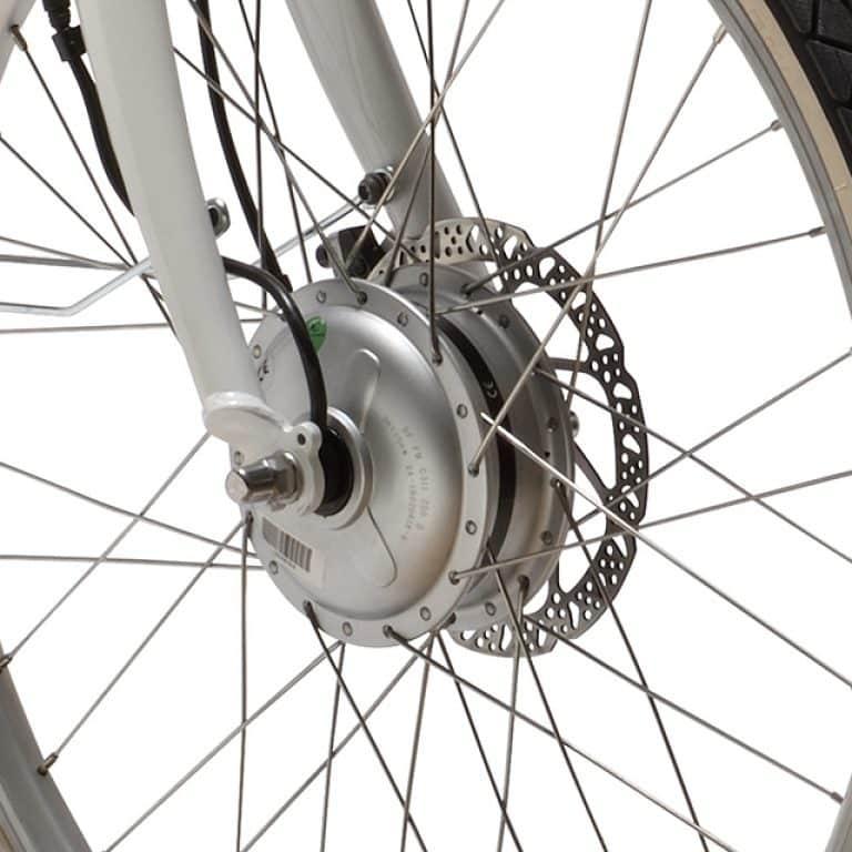 roue vélo électrique