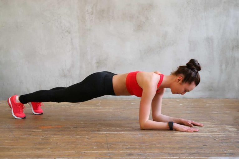 sport à la maison planche