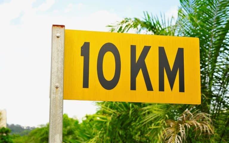 panneau 10 km