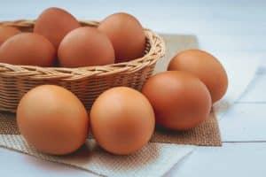 protéines dans un œuf