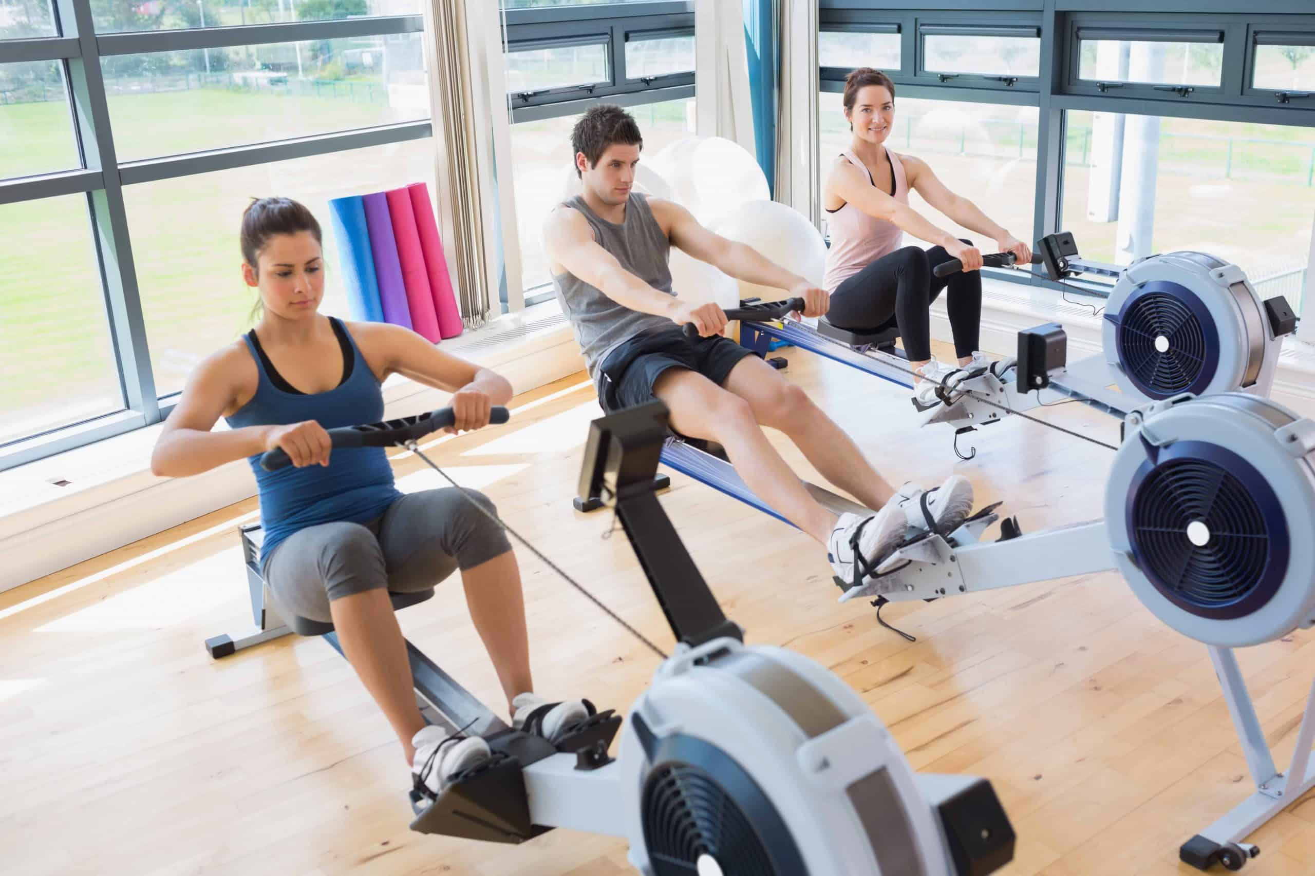 exercice pour rameur