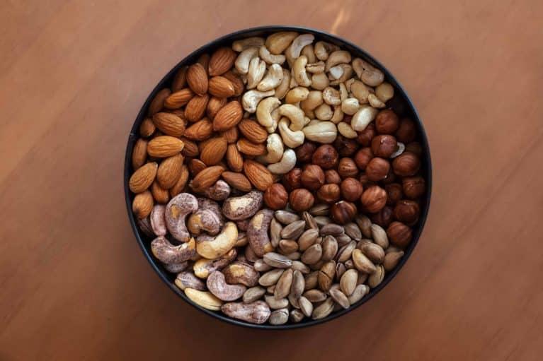 protéines dans un œuf ou noix