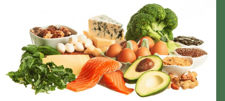 Aliments pour régime Keto