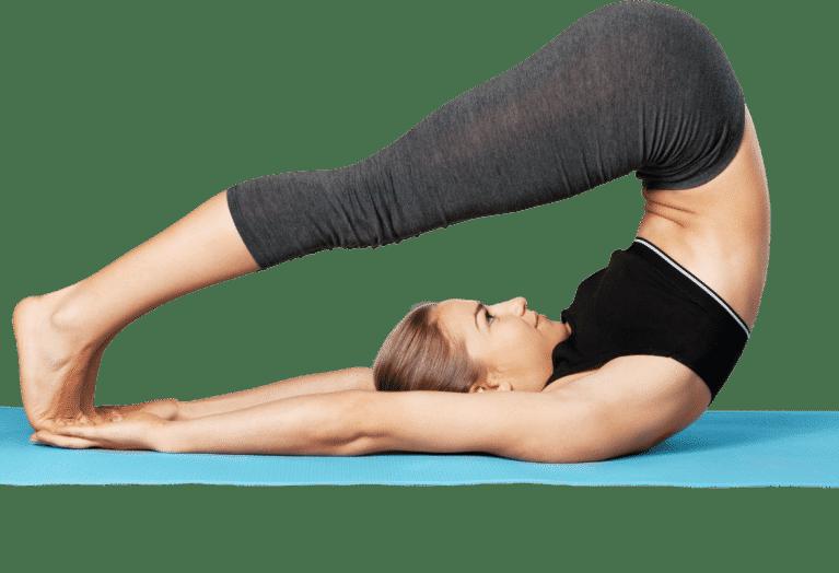 Yoga posture belly