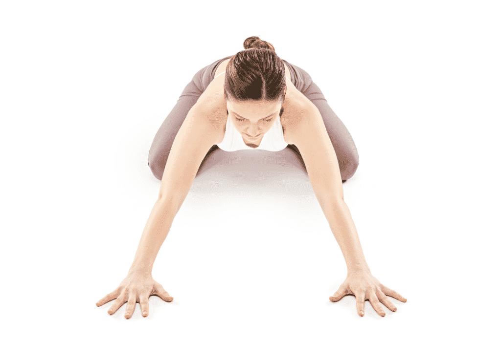 Yoga posture du lion
