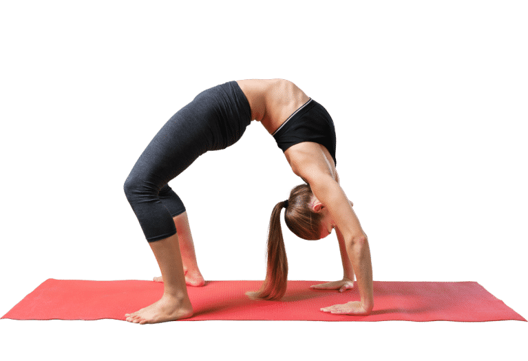 Yoga posture du pont