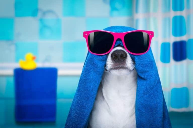bon bain chaud après le sport