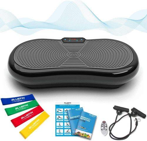 Bluefin Fitness, une plateforme vibrante et oscillante à double moteurs 3D